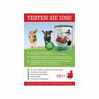 """Plakat """"Testessen"""" Hund A3 (1 Piece)"""